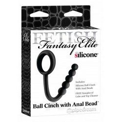 Anello per pene Ball Cinch with Anal Bead